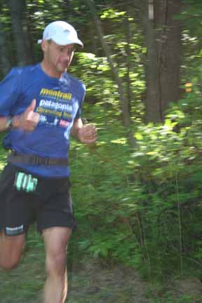 Leigh Schmitt, Fifty Mile Winner and Course Record Holder