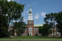 Dartmouth College, Hanover, New Hampshire.