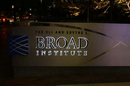 The Broad Institute.