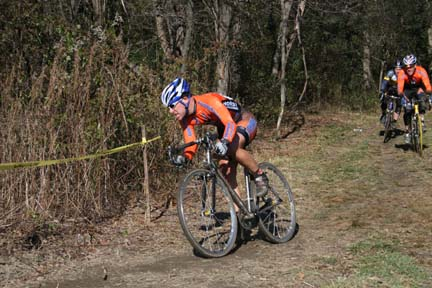 Scott Livingston at the West Hill Cross.