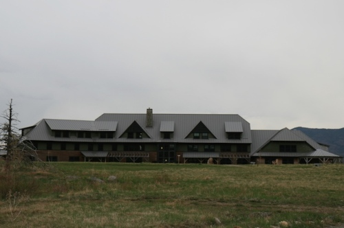 The Highland Center main lodge.