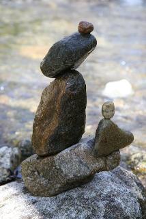 Rock art.