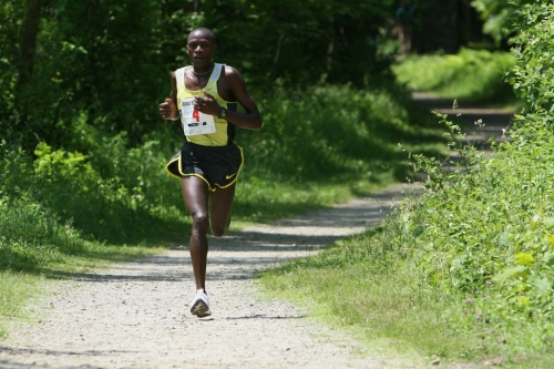 Philip Koech leads the pack.