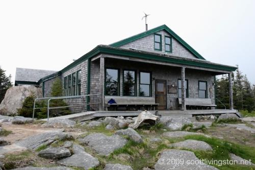 Galehead Hut.
