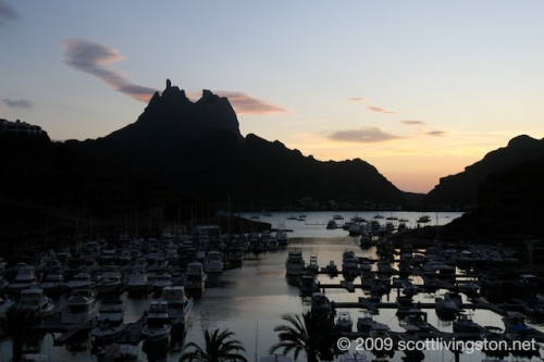 San Carlos Harbor and the iconic Teta Kawi