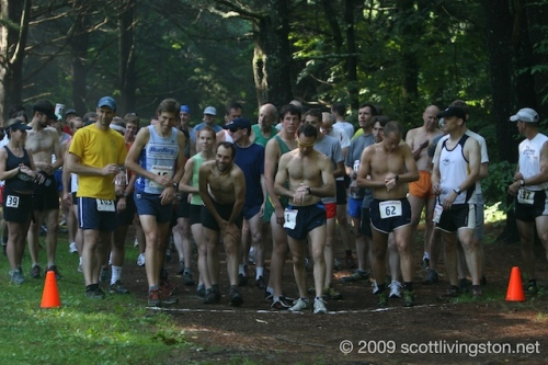 Peoples Forest Trail Race Start