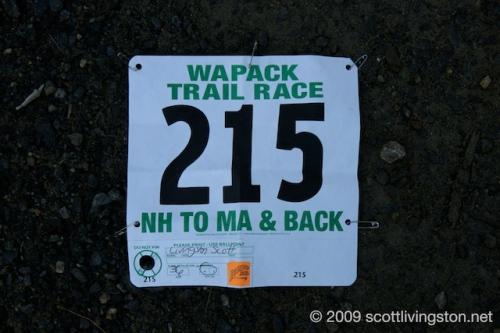 Wapack Race Number