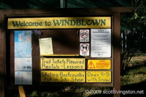 Windblown Ski Area