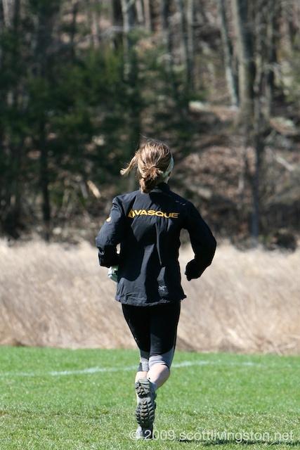Debbie Livingston at Bimbler's Bash Trail Race