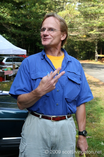 Race Director Karl Molitoris