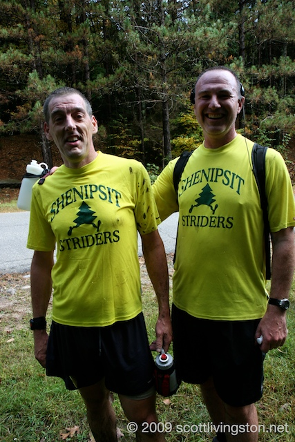 The Shenipsit Striders had a strong contingent.