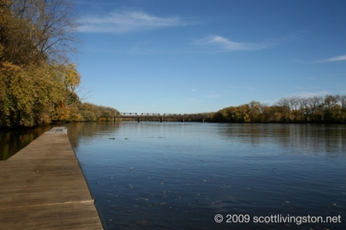 The Connecticut River looking north.