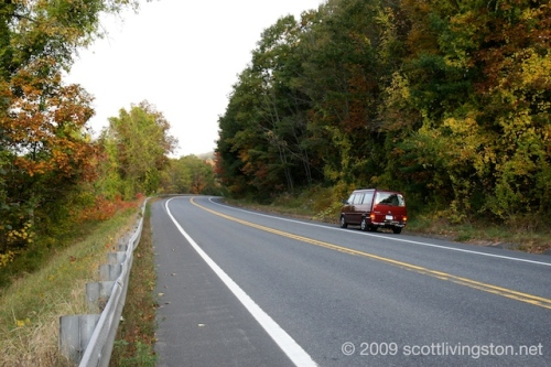 Route 2 (The Mohawk Trail) in Autumn Splendor.