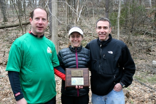 2013_Traprock 50K 109_Marty, Debbie, and Steve