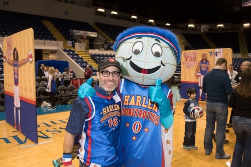 2014_YPO Shoot the Rock-Harlem Globetrotters Event 8